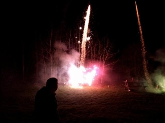 Fireworks silhouette jennybegoode.wordpress.com